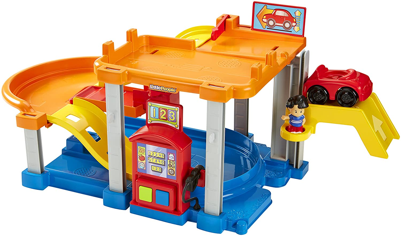 Garage Little People : Amazon.com: fisher price chf61 little people rollin ramps garage