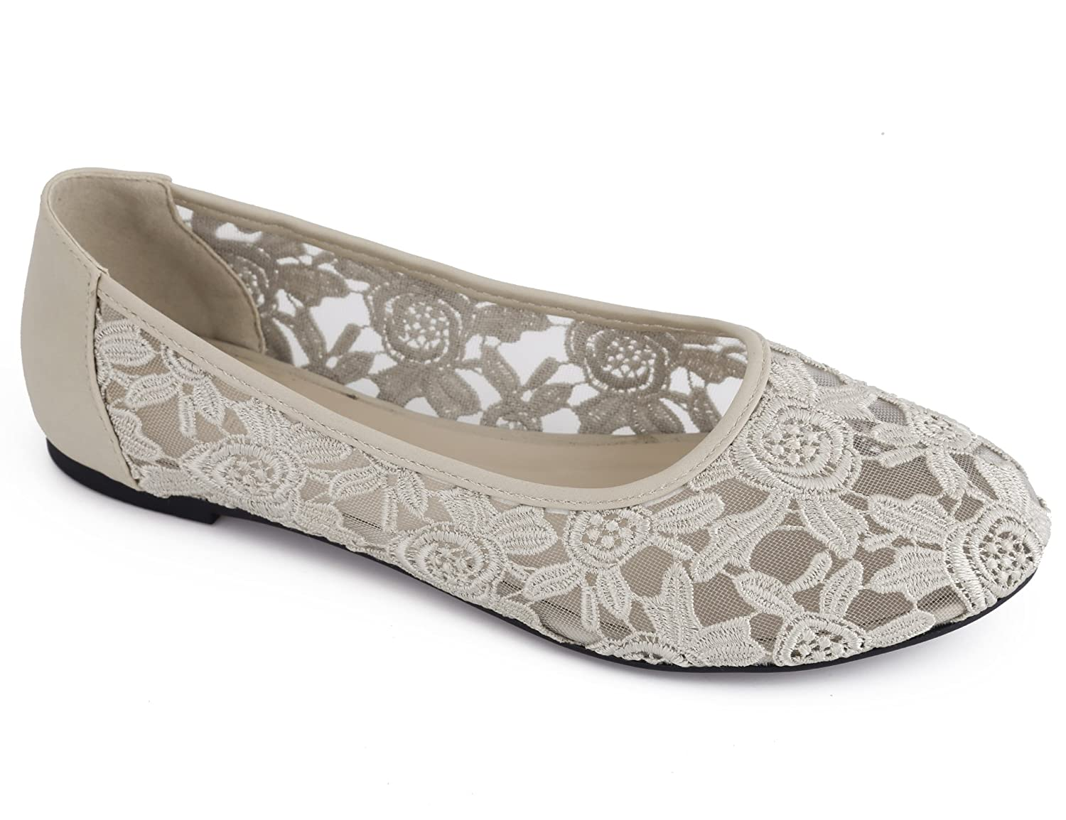 cb01c25f4fe39 Amazon.com | Greatonu Women Shoes Cut Out Slip On Synthetic Lace ...