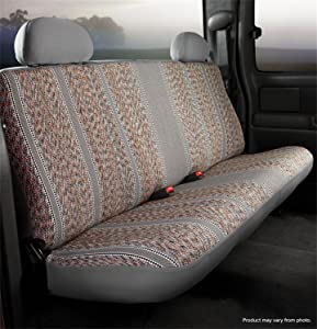 Fia TR49-2 GRAY Custom Fit Front Seat Cover Bench Seat- Saddle Blanket, (Gray)