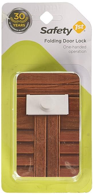 Amazon.com : Safety 1st Bi-Fold Door Lock : Cabinet Safety Locks ...
