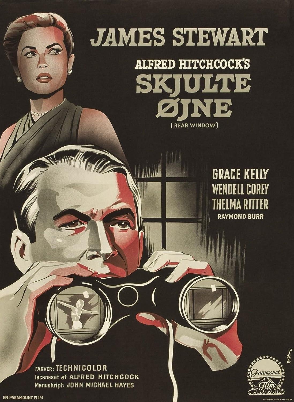REAR WINDOW Movie Poster 1954