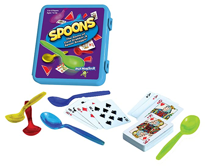 Amazon Playmonster Spoons Case Toys Games