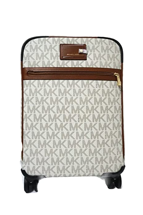 916f86f255f0 Michael Kors Travel Trolley Carry On Suitcase Vanilla MK Signature ...