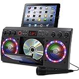 Akai KS303B-BT Bluetooth CD&G Karaoke System, Black