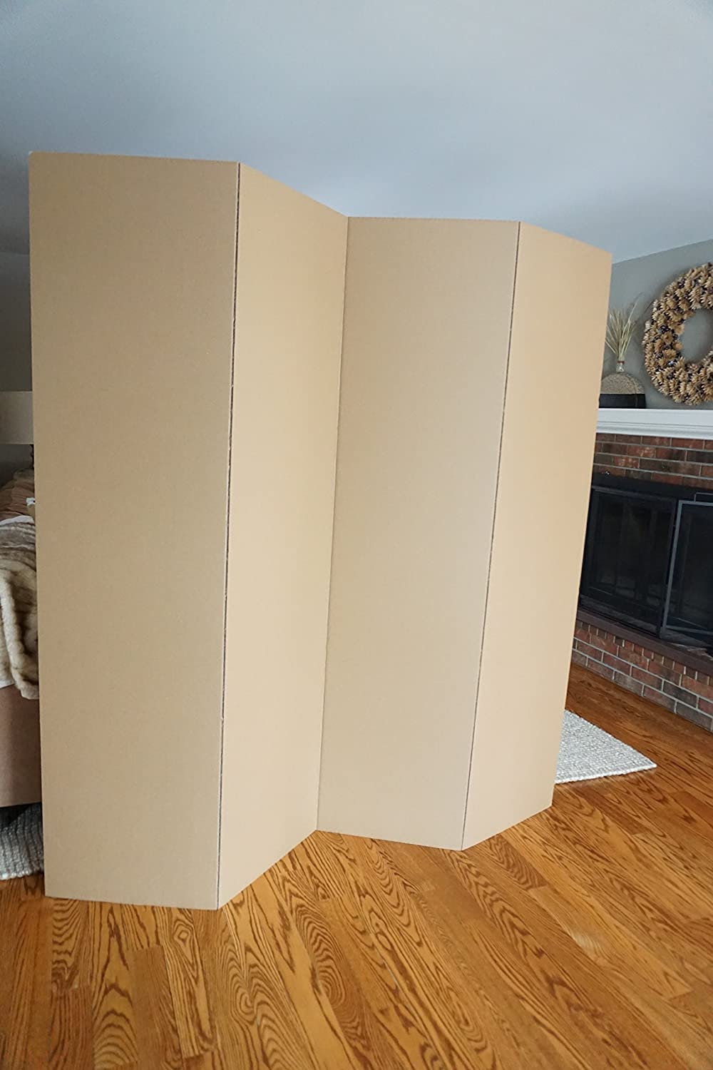 Amazon Com Dormco Privacy Room Divider Kraft Furniture Decor