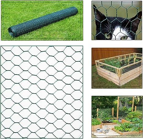 Clôture de jardin grillage 25 x1 M Fil Grille de clôture ...