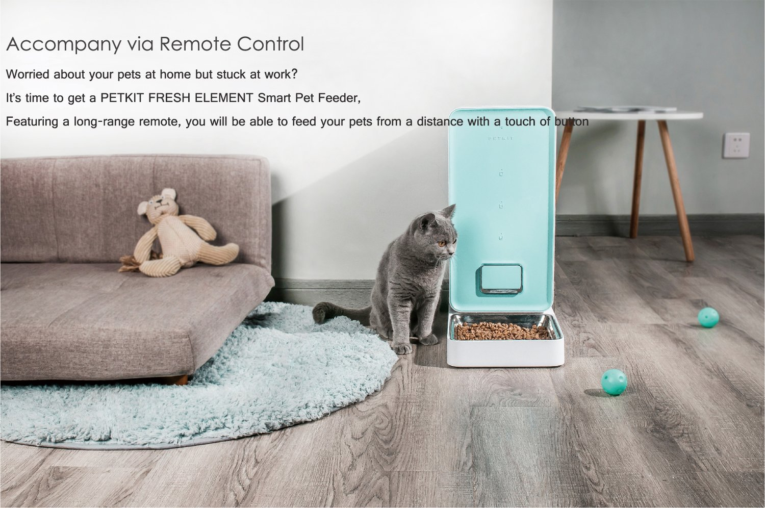 dog for fashion smart video control life automatic wifi monitoring with way cat remote feeding products machine webcam feeder and sound dogs cats hours app pet