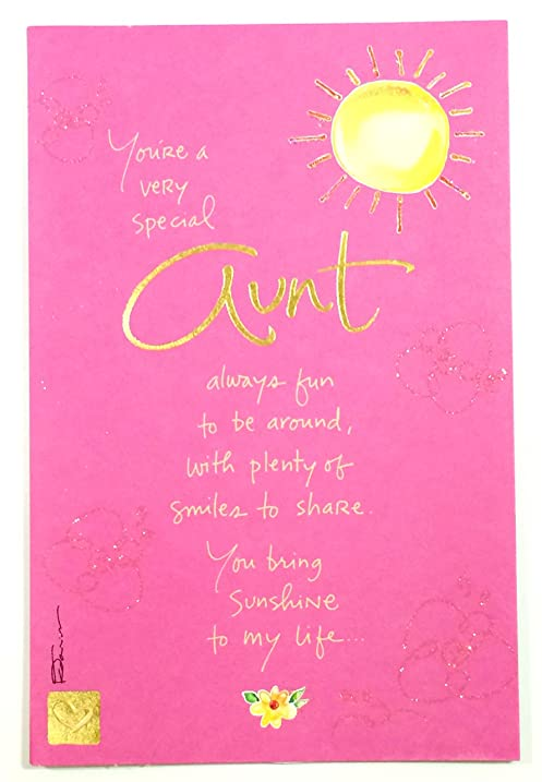 Amazon mothers day card for auntyoure a very special aunt mothers day card for auntyoure a very special aunt always fun to m4hsunfo