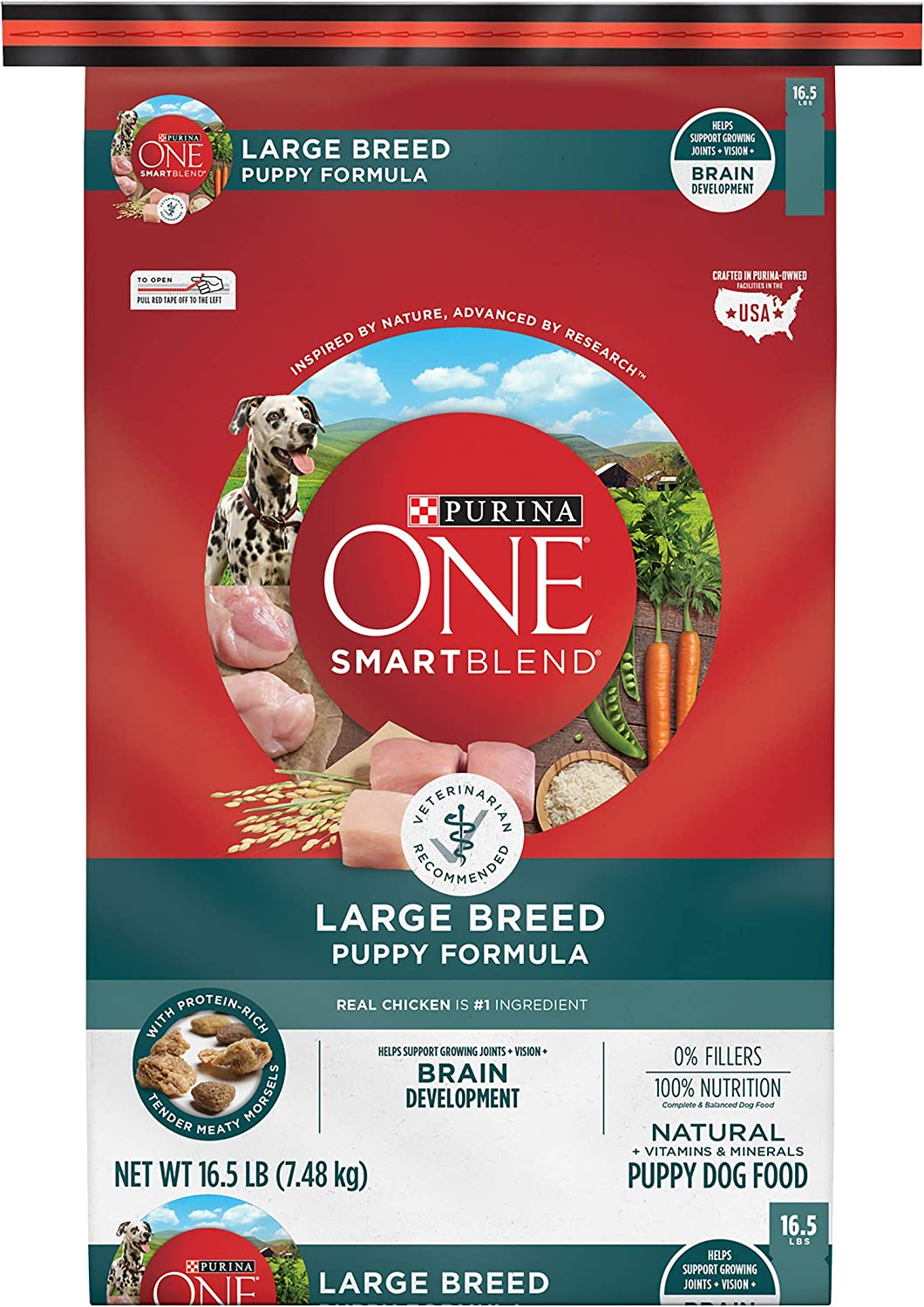 3. Purina ONE SmartBlend Natural Large Breed Formula