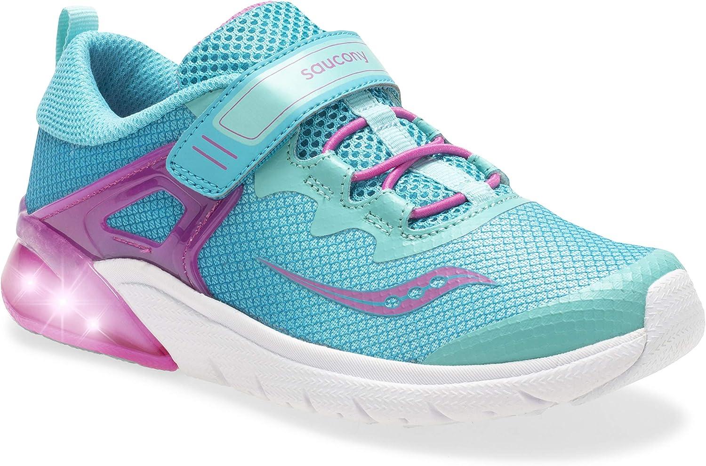 Amazon.com | Saucony Kids' Flash Glow A/C Sneaker | Sneakers