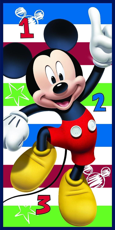 Export Trading Disney - Toalla de microfibra con diseño Mickey & Friends, 140 x 70 cm: Amazon.es: Hogar