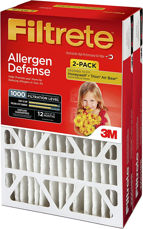 "Filtrete Micro Allergen 4"" Furnace Filters"