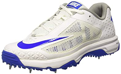 size 40 17ec8 77a93 Nike Men s DOMAIN White Cricket Shoes-13 UK India (48.5 EU) (