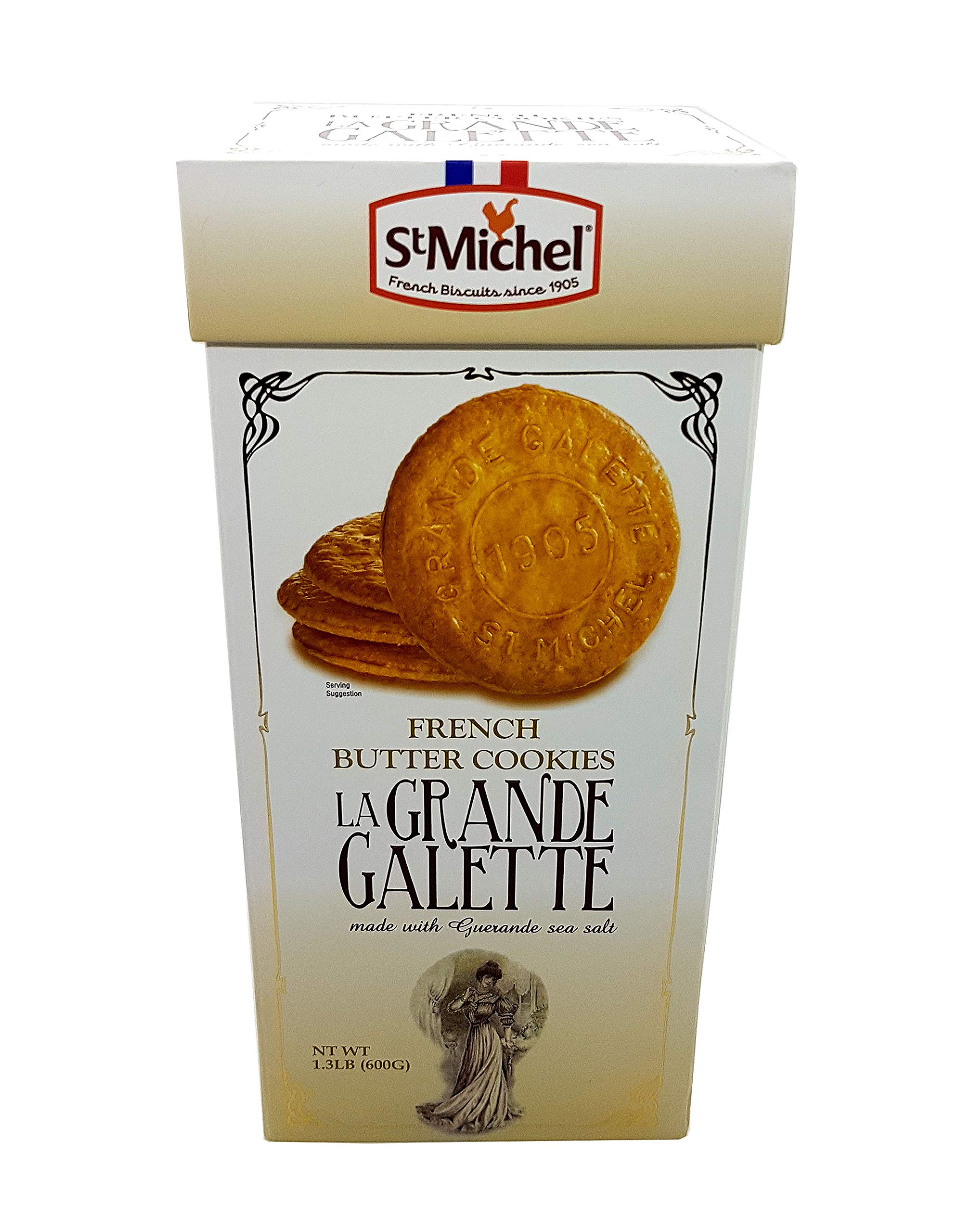 St Michel La Grande Galette French Butter Cookies Biscuits 1.3 LB (Pack of 2) by St Michel (Image #2)