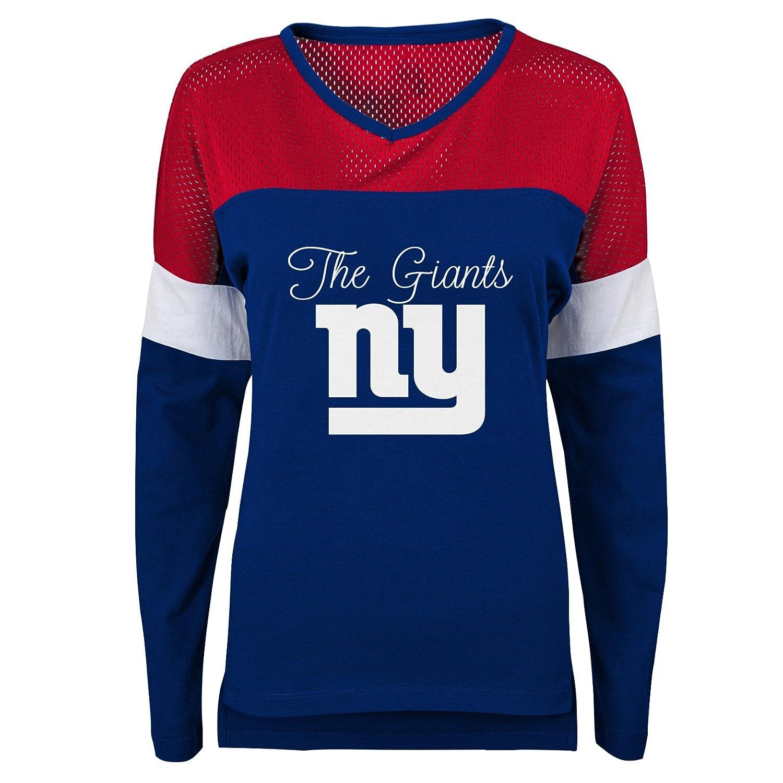 Amazon.com   Outerstuff NFL Womens Juniors Team Blocker Long Sleeve Tee    Sports   Outdoors 8647a965e