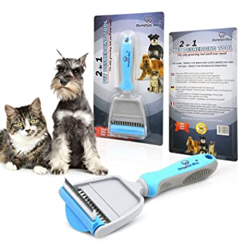 Dogcat grooming brush with free ebook 2 in 1 professional pet dogcat grooming brush with free ebook 2 in 1 professional pet fandeluxe Choice Image