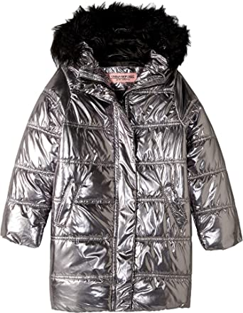 23f618b99 Amazon.com  Urban Republic Kids Womens Glo Oversize Metallic Foil ...