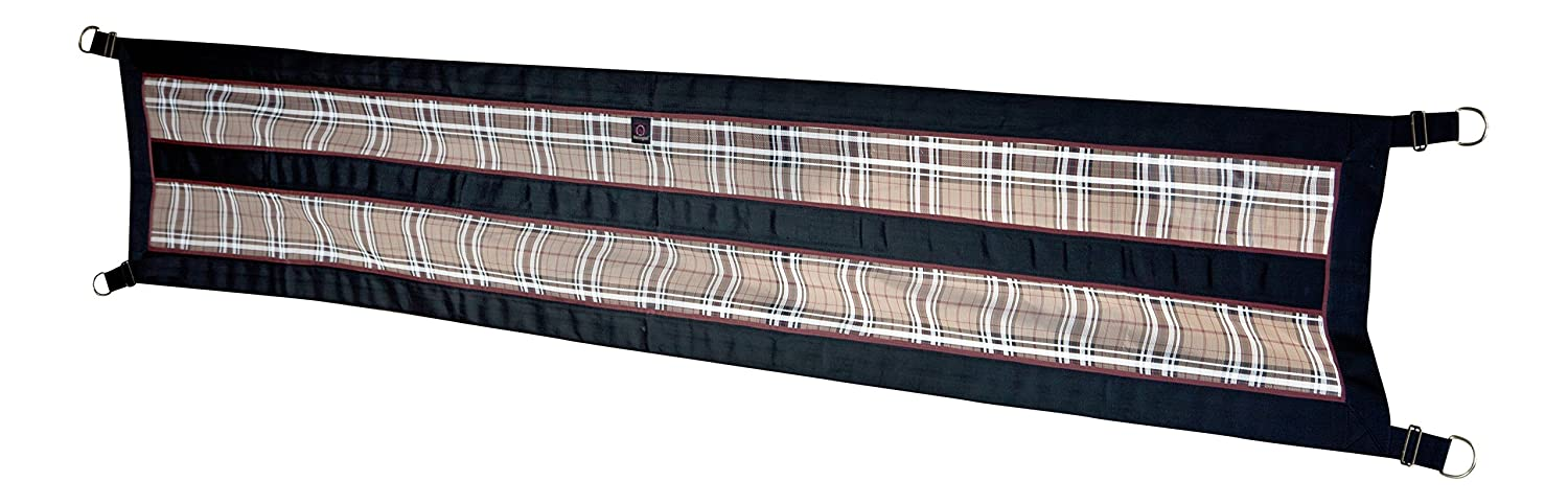 Kensington Aisle Guard for Horses — Designed to Keep Horse Securely in Barn Aisle — Adjustable Straps and Hardware Included KAG121
