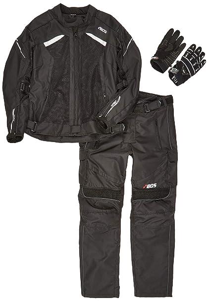 BOSmoto Traje de motociclismo para mujer, chaqueta + pantalones + ...