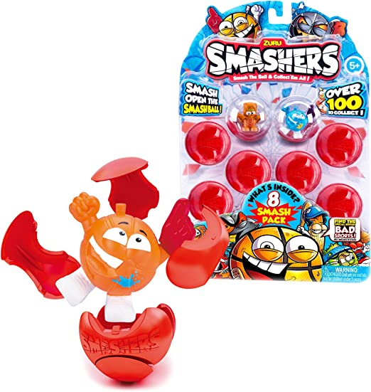 Amazon.com: ZURU Smashers Bus: Toys & Games