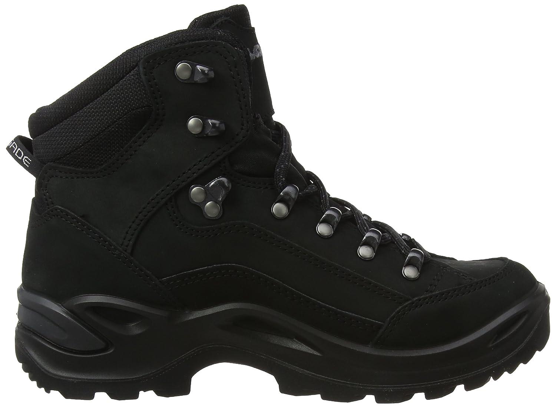 Lowa Hiking Women's Renegade GTX Mid Hiking Lowa Boot B0042ANDDU 9.5 B(M) US|Black/Black 54178f