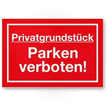parkverbotsschilder kaufen