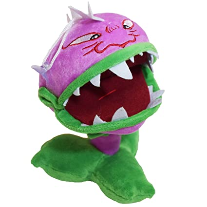 Rising Toys PVZ Purple Chomper Plant Cute Soft Plush Toy Doll