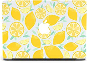 Food Lemon Protective case Compatible with Apple MacBook Mac Air Pro 13 12 15 16 13.3 inch Retina Cover SN5 (Air 13