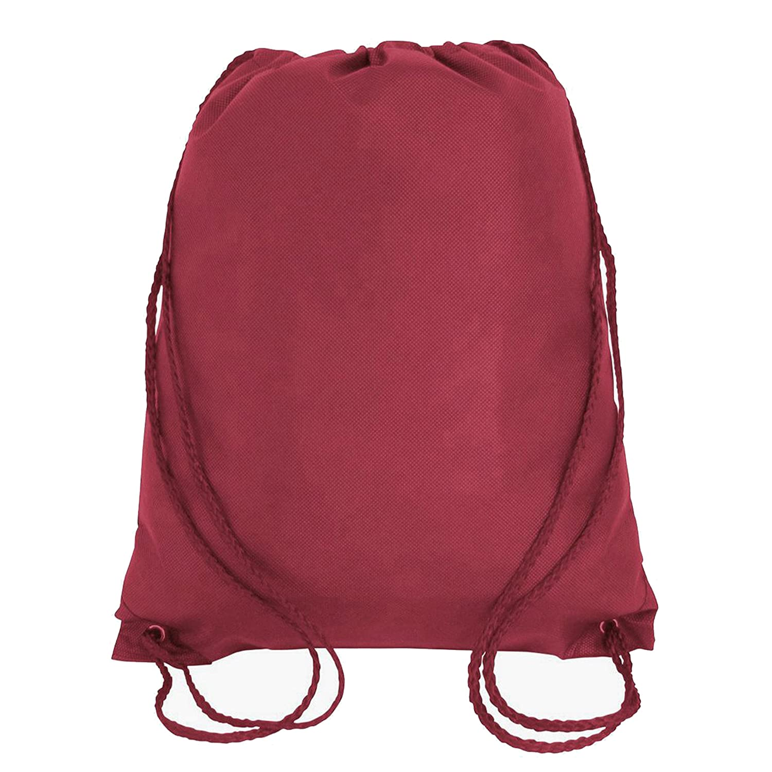 70618455119a 50 PACK - Economical Non Woven Well Made Drawstring Backpack Bags Bulk -  Giveaway Church