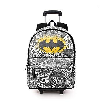 Karactermania Batman Tagsignal-Mochila HS con Carro Mochila Tipo Casual, 51 cm, 23 litros, Gris: Amazon.es: Equipaje