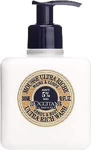L'Occitane Shea Butter Ultra Rich Hands & Body Wash 300ml/10.1oz