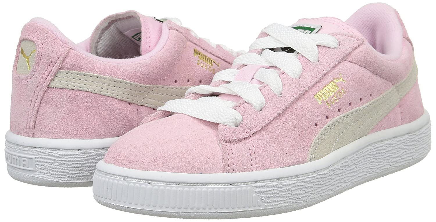 38d7a922fa7 Puma Girl s Suede Jr Trainers Shoes  Amazon.co.uk  Shoes   Bags