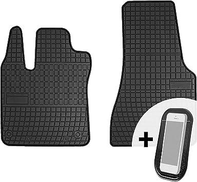 Petex Passform Gummimatte 2-teilig für Smart Fortwo 2014