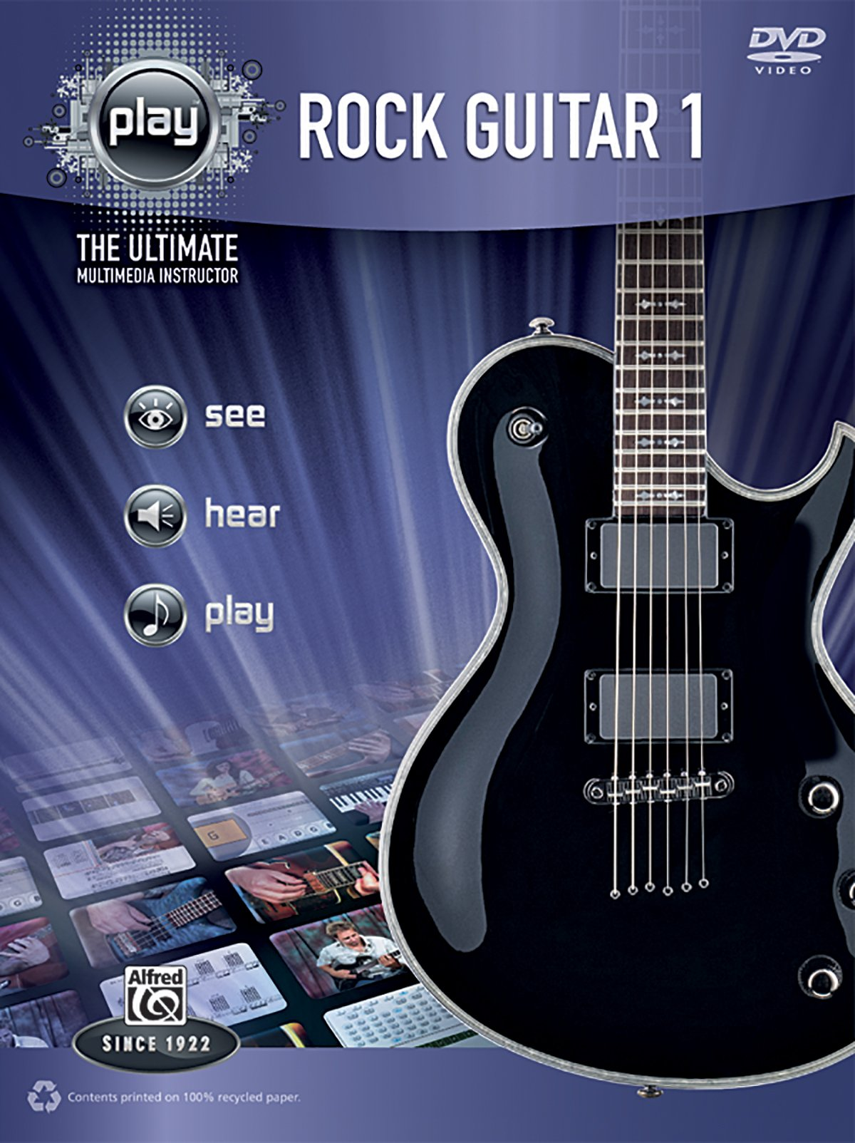 Alfred's PLAY Rock Guitar 1: The Ultimate Multimedia Instructor (Book & DVD) pdf epub