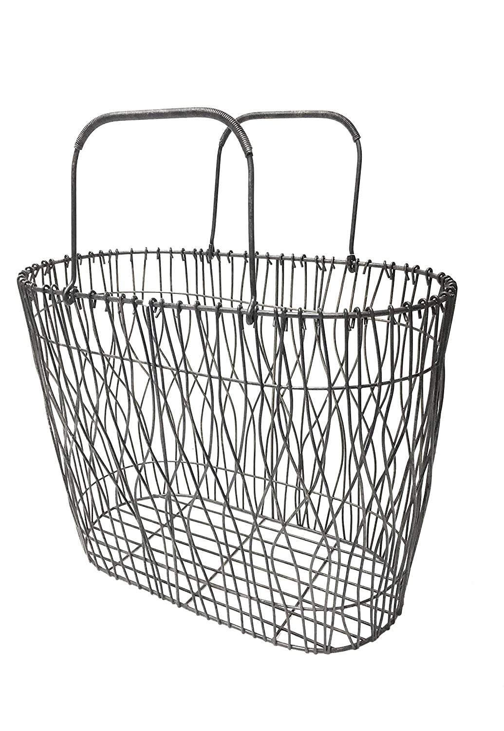 Cheap-Chic Decor Decorative Metal Wire Magazine Holder Basket