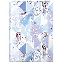 Safta-Frozen Carpeta Folio con 3 Solapas, Color Azul Claro/Plata, (512015068)