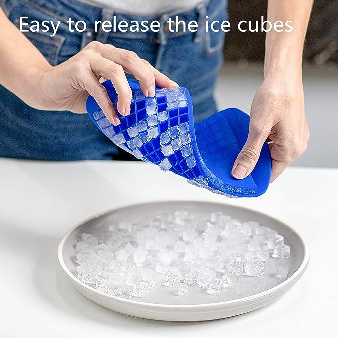 Bandeja de hielo 1 Molde de hielo multifuncional de silicona de grado alimenticio con forma de robot rojo para el hogar para la cocina Bandeja de hielo 4