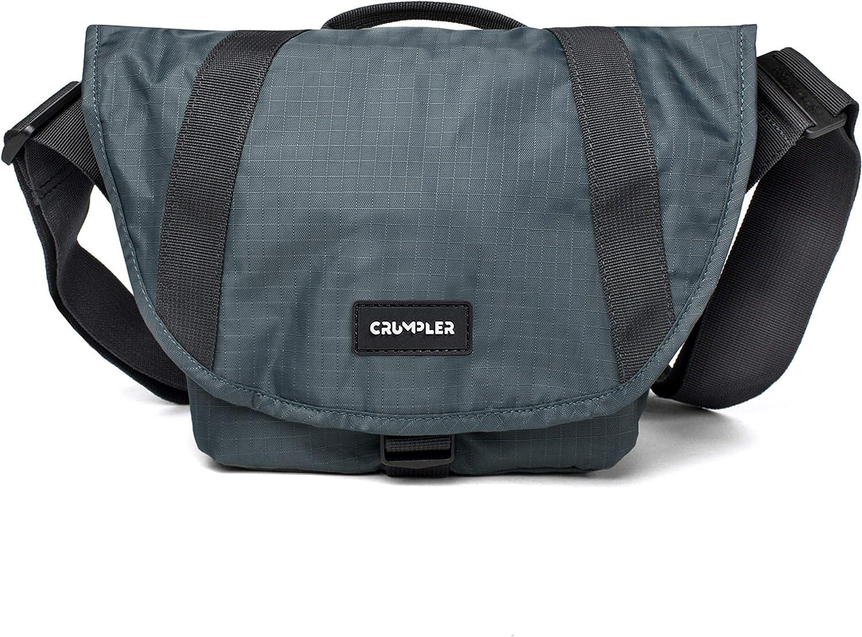 Crumpler LD4000-010 Light Delight 4000 Sling Bag for SLR Camera with 2 Lens Steel Grey