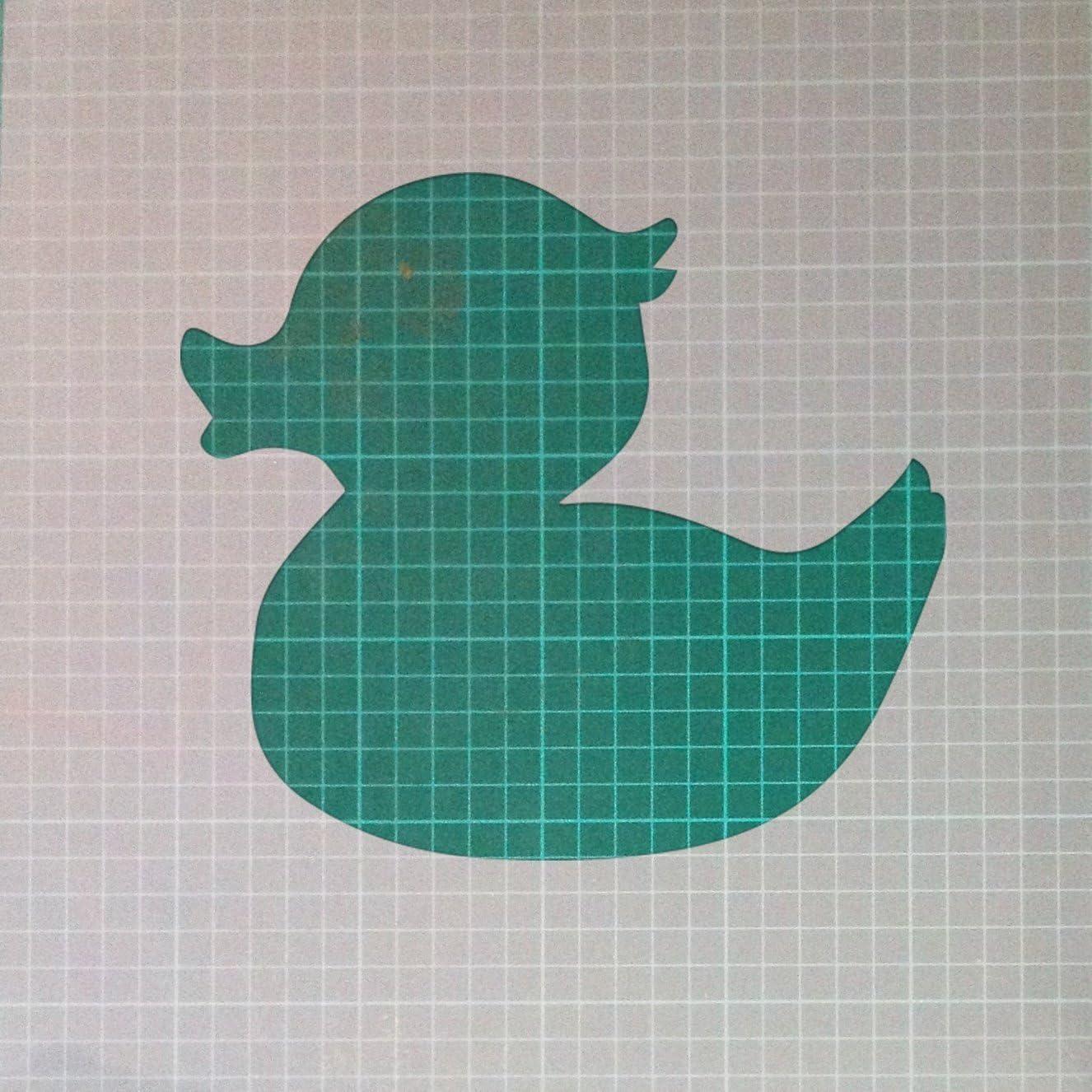 A5 Size Stencil - XSmall Duckling Bird Flying Animal Mylar Airbrush Painting Wall Art Stencil Three