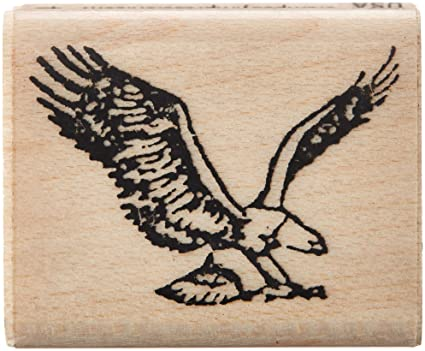 Amazon Stamps By Impression ST 0154 Eagle Rubber Stamp Arts