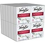 Vanity Fair Impressions Dinner Napkins, 960 Count Paper Napkins (24 Packs of 40 Napkins)