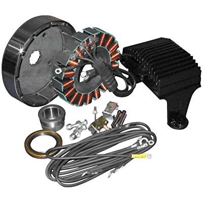 Cycle Electric 80 Series 50 Amp Three Phase Kit CE-84T-99: Automotive