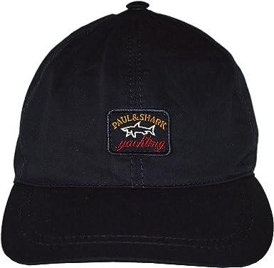 PAUL & SHARK - Gorra de béisbol - para Hombre Negro Negro Talla ...