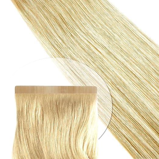 Tape Extension Strips de pelo garantía lisa: 30 cm ...