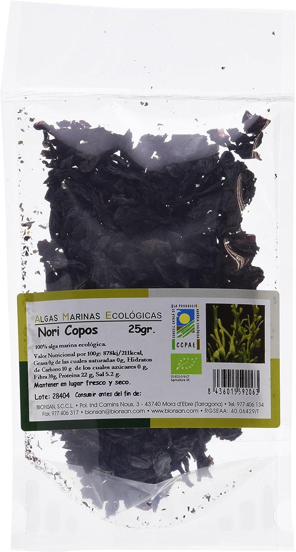 Bionsan Algas Marinas Nori en Copos ECO - 25 gr