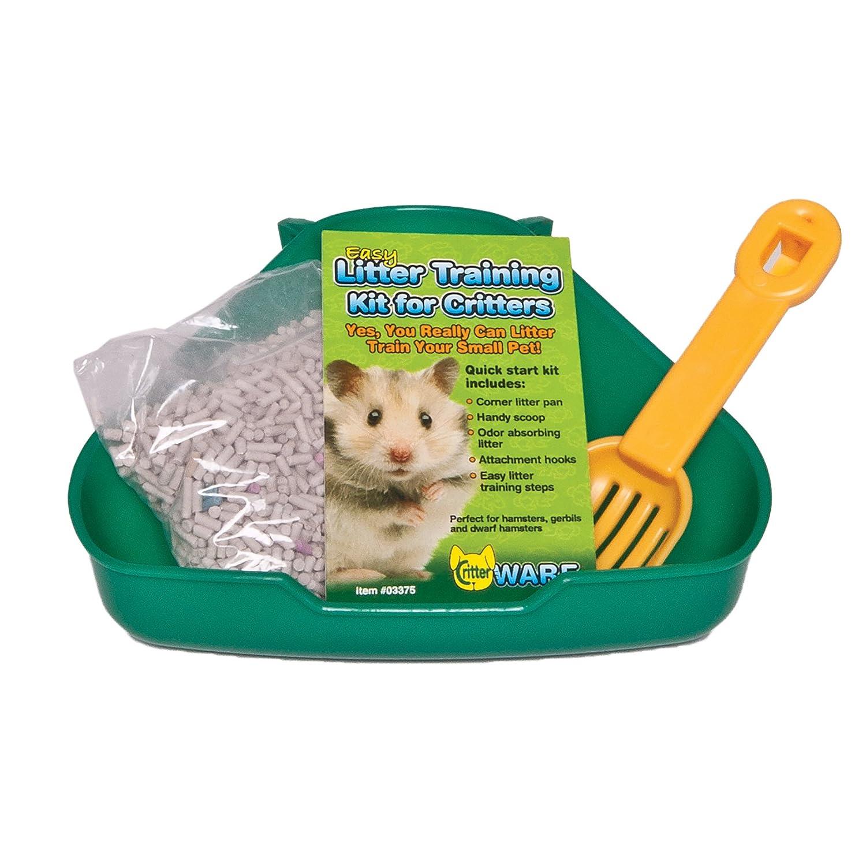 WARE MANUFACTURING Critter Litter Small Pet Training Kit con Pratica Guida