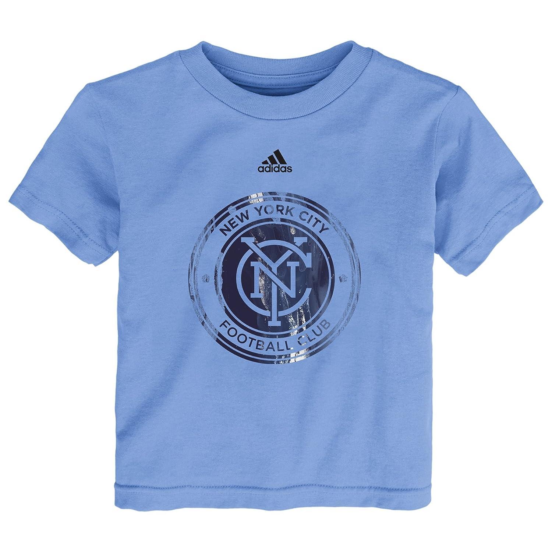 【超特価】 MLS Nycfc Boys MLS WarペイントロゴショートスリーブTシャツ、3トール Nycfc、Bahiaブルー Boys B01MZGMUPQ, ウェルコムデザイン:2fa523c6 --- a0267596.xsph.ru