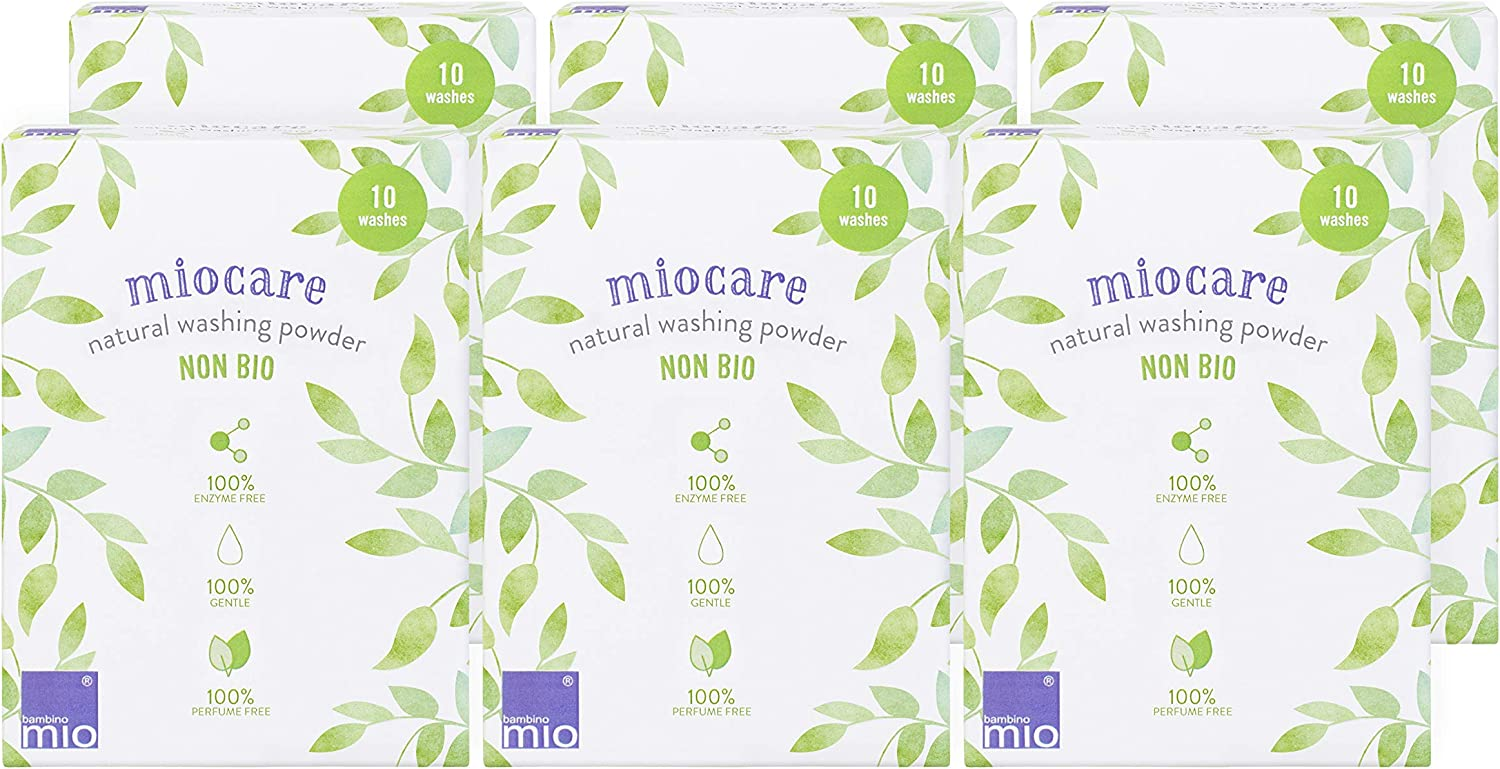 Natural Washing Powder Miocare Bambino Mio 6 Pack