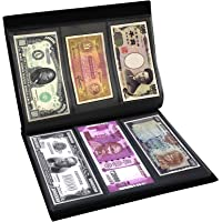 Mahogany Life Currency Note Collection Album - Premium Leather Cover (102 Note Pockets)