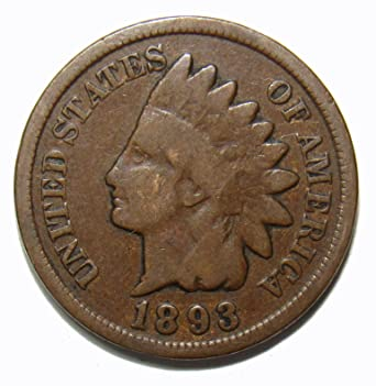 G ABOUT GOOD CIRCULATED GRADE AG GOOD COIN 1885 INDIAN HEAD CENT PENNY